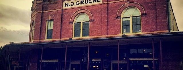 Gruene Antique Company is one of New Braunfels.