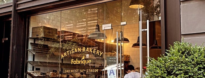 Fabrique Bakery is one of NY Vegetarian Favorites.