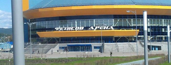 Фетисов-Арена is one of Dima 님이 좋아한 장소.
