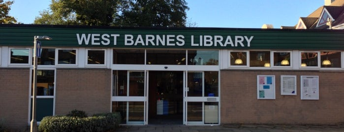 West Barnes Library is one of European.