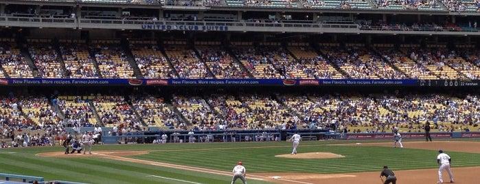 Dodger Stadium is one of LA Places.