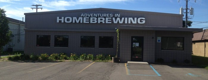 Adventures In Homebrewing is one of สถานที่ที่บันทึกไว้ของ Gabi.
