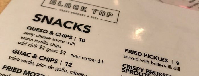 Black Tap is one of NYC Notable Burgers.