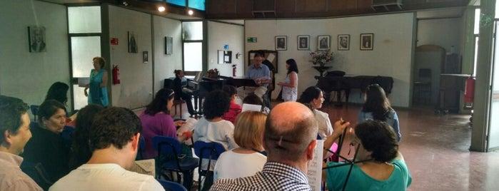 Casa Del Coro Sinfonico De La U. De Chile is one of Providencia.