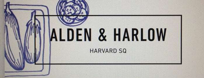Alden & Harlow is one of Boston.