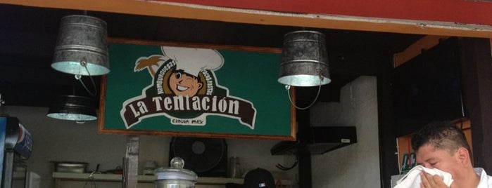 la tentacion Restaurante is one of Cancun.