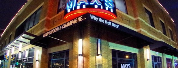 MAX's Wine Dive Dallas is one of Tempat yang Disukai Mellissa.