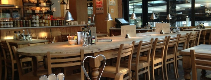 Le Pain Quotidien is one of Istanbul.