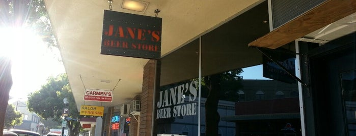 Jane's Beer Store is one of Breweries & Pubs.