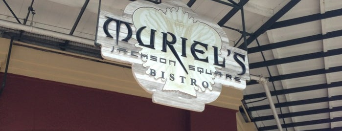 Muriel's Jackson Square is one of NOLA to-do.