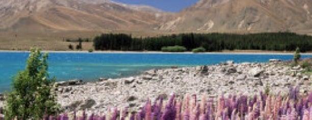 Lake Tekapo is one of Nuova Zelanda.