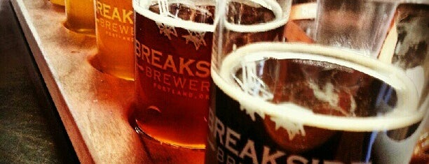 Breakside Brewery is one of Locais curtidos por Benjamin.