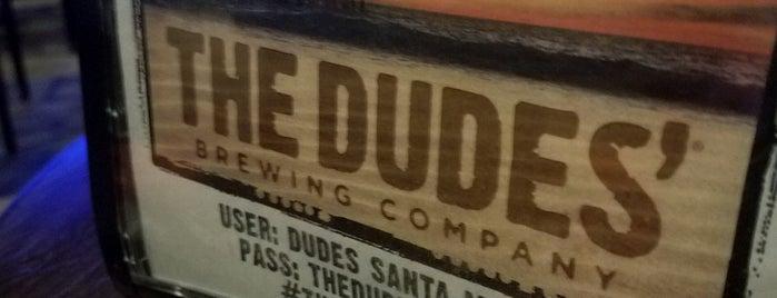 The Dudes' Brewing Co. is one of Lieux qui ont plu à ᎧᎧᎧᎧᎧᎧ.