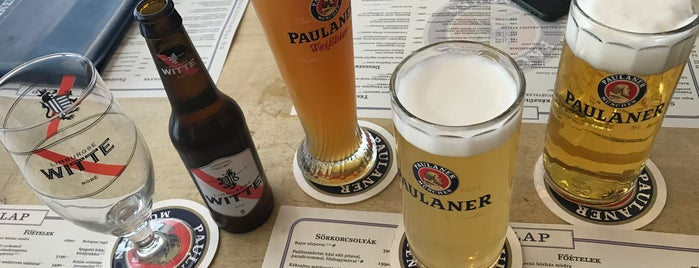 Paulaner Sörház is one of János 님이 좋아한 장소.