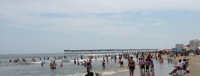 Viginia Beach Pier is one of VA Beach.