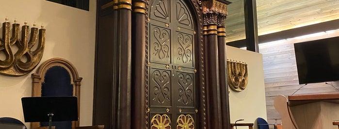 Temple Beth Or is one of สถานที่ที่บันทึกไว้ของ Arthur.