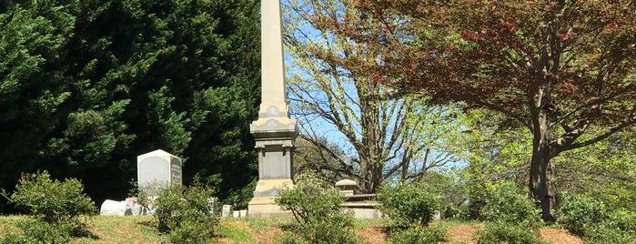 Oakwood Cemetery is one of 919 y'all.