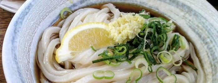 自家製麺 黄金の穂 is one of 第5回 関西讃岐うどん西国三十三カ所巡礼.