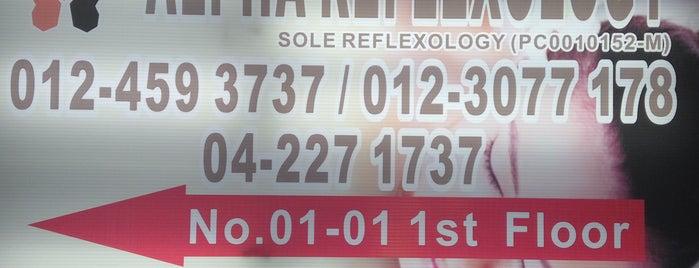 Alpha Foot Reflexology is one of Penang.