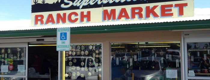Superstition Ranch Market is one of Gilbert to do.