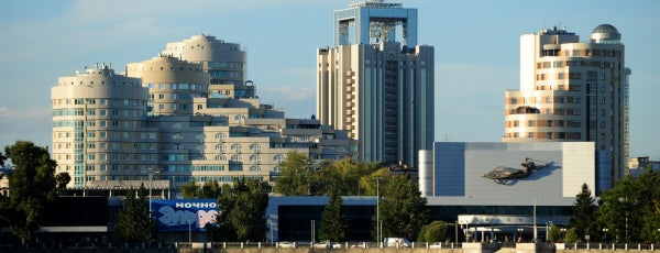 Yekaterinburg is one of :)).