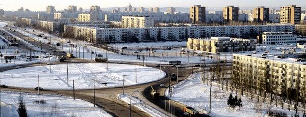 Tolyatti is one of Города Самарской области.