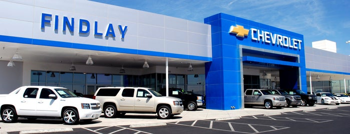 Findlay Chevrolet is one of Cadyさんのお気に入りスポット.