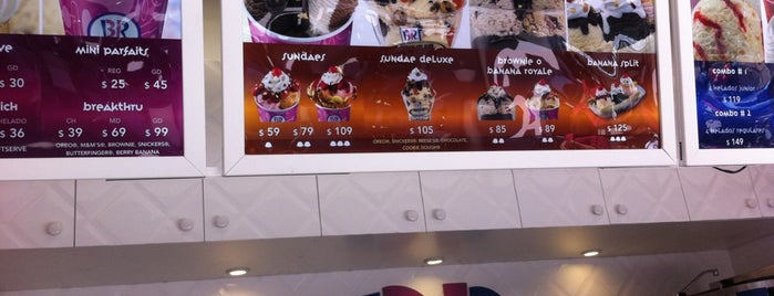 Baskin-Robbins is one of Mexico City Dessert.