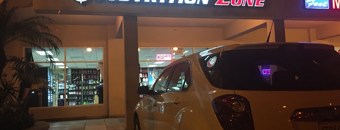 Nutrition Zone is one of Posti che sono piaciuti a Ed.