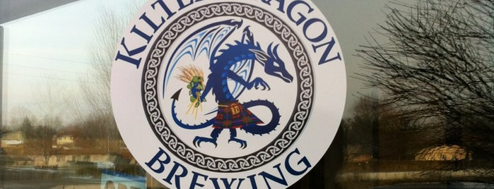 Kilted Dragon Brewing is one of Brewery & Distillery To-Do List.