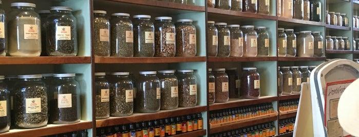 The Lhasa Karnak Herb Company is one of Berkeley.