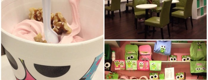 sweetFrog is one of Lugares favoritos de Heather.