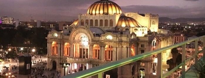 Palacio De Bellas Artes is one of CDMX.