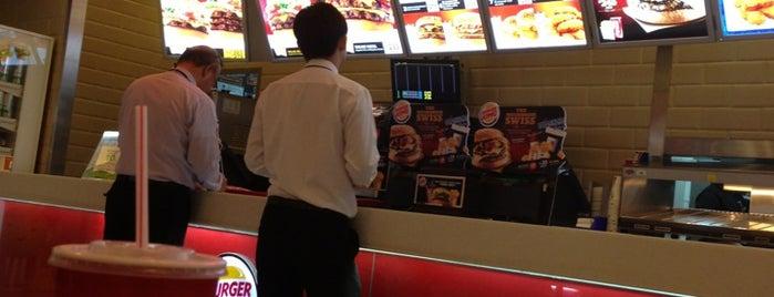 Burger King is one of Natdanai : понравившиеся места.