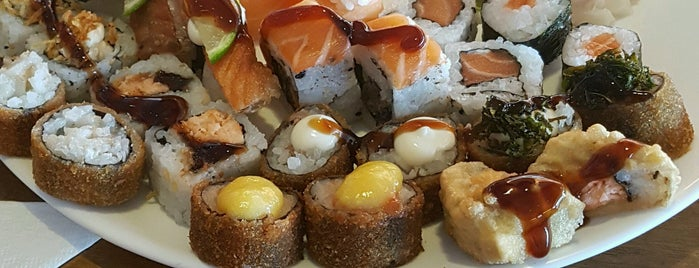 Kiga Sushi is one of Sarah 님이 저장한 장소.