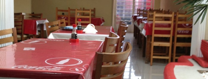 Restaurante Pequim is one of สถานที่ที่ Luis ถูกใจ.