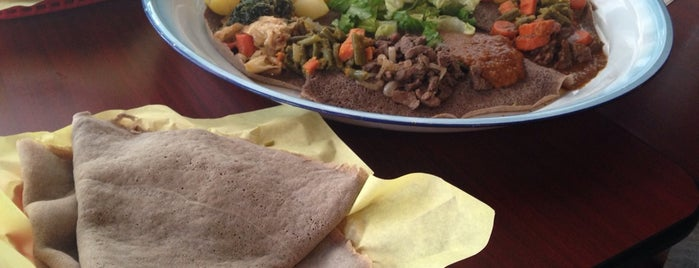 Enat Ethiopian is one of Ethiopian Food.