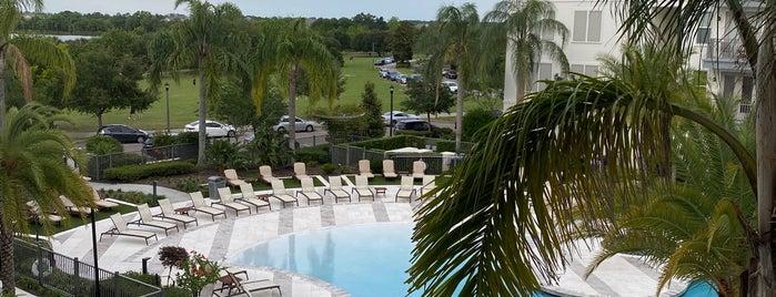 Baldwin Park, Orlando is one of Orlando City Badge - The City Beautiful.