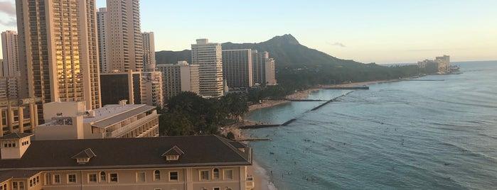 Moana Surfrider Beach Club is one of hawai best.