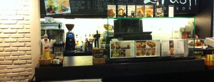 Brush Bangkok is one of Cafe' to Go.