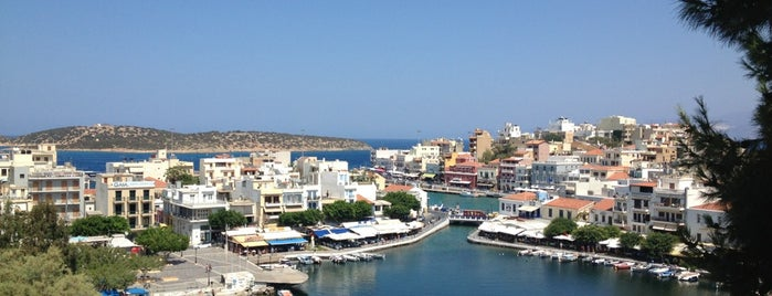 Port of Agios Nikolaos is one of Dmitriy : понравившиеся места.