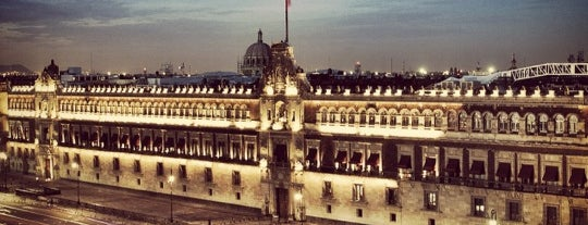 Palacio Nacional is one of Mexico City - Monuments.