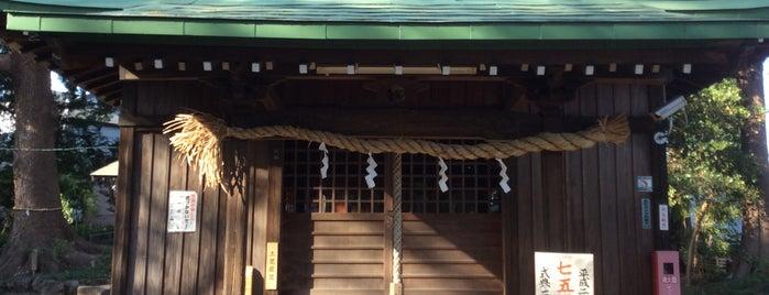 小園子之社 is one of 海老名・綾瀬・座間・厚木.
