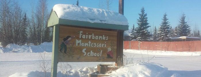 Fairbanks Montessori School is one of Lugares favoritos de Tiffany.