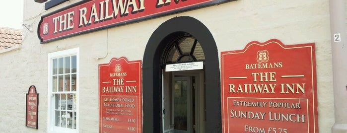 The Railway Inn is one of Carl 님이 좋아한 장소.