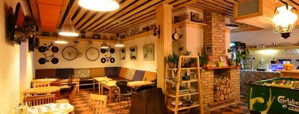 DRUZI cafe & bar is one of в плане.