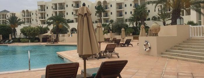 The Residence Tunis Hotel La Marsa is one of Posti che sono piaciuti a Tango 🏃🏾♂️.