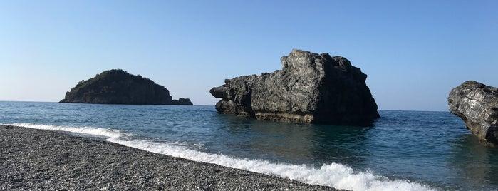 Παραλία Χιλιαδούς is one of Damianosさんの保存済みスポット.