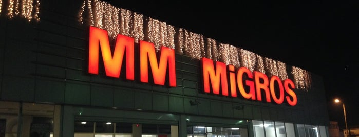 Migros is one of Muhtelif.