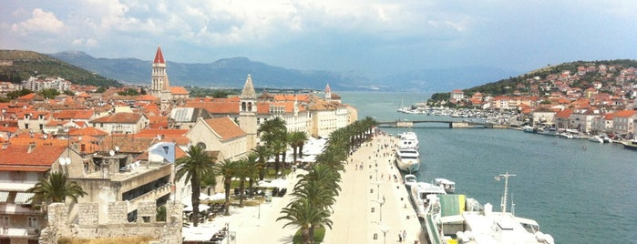 Trogirska riva is one of Croatia. Places.